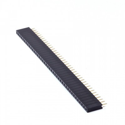 "Female Header 0.1""  40-pin Single Row"