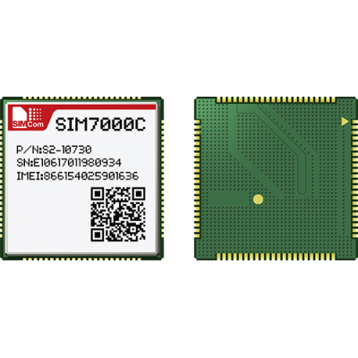 SIM7000C-LTE CAT M1(eMTC) and NB-IoT Module