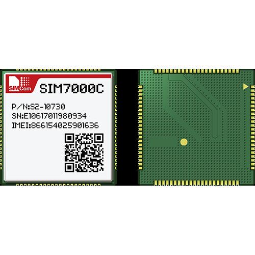 SIM7000C-LTE CAT M1(eMTC) and NB-IoT Module